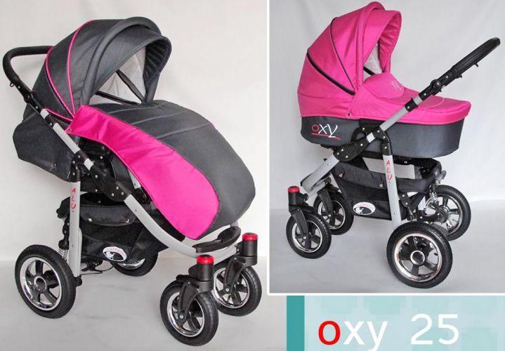 Детская коляска Happych Oxy 2в1 3в1 расцветка 25